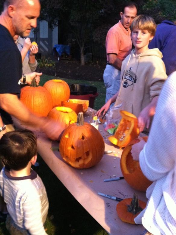 Pumpkin Carving Partu