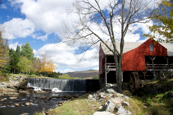 Weston Mill and waterfalls